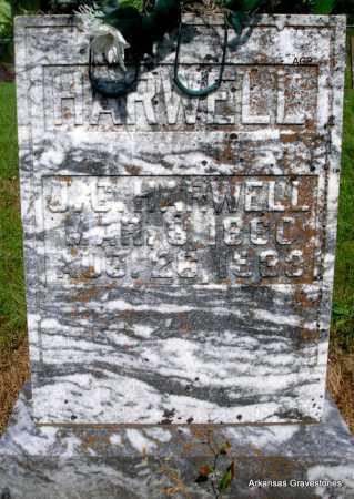 HARWELL, J  G. - Logan County, Arkansas | J  G. HARWELL - Arkansas Gravestone Photos