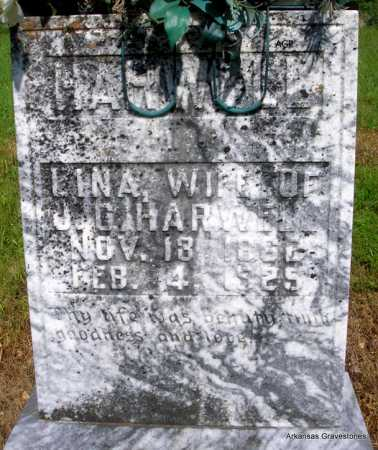 HARWELL, LINA - Logan County, Arkansas | LINA HARWELL - Arkansas Gravestone Photos