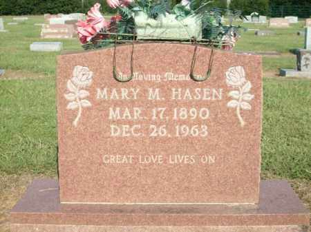 HASEN, MARY M. - Logan County, Arkansas | MARY M. HASEN - Arkansas Gravestone Photos