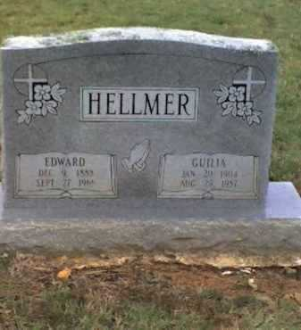 HELLMER, EDWARD - Logan County, Arkansas | EDWARD HELLMER - Arkansas Gravestone Photos