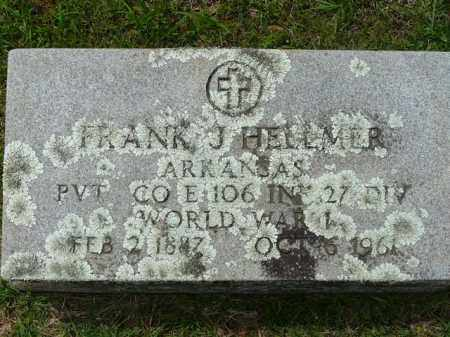 HELLMER (VETERAN WWI), FRANK - Logan County, Arkansas | FRANK HELLMER (VETERAN WWI) - Arkansas Gravestone Photos