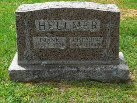 KLAEGER HELLMER, JOSEPHINE - Logan County, Arkansas | JOSEPHINE KLAEGER HELLMER - Arkansas Gravestone Photos