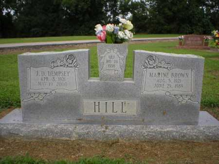 BROWN HILL, MARIE J. - Logan County, Arkansas | MARIE J. BROWN HILL - Arkansas Gravestone Photos