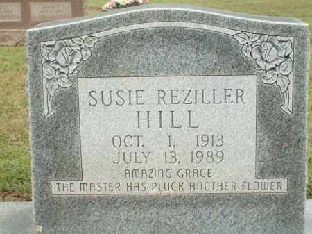 HILL, SUSIE REZILLER - Logan County, Arkansas | SUSIE REZILLER HILL - Arkansas Gravestone Photos