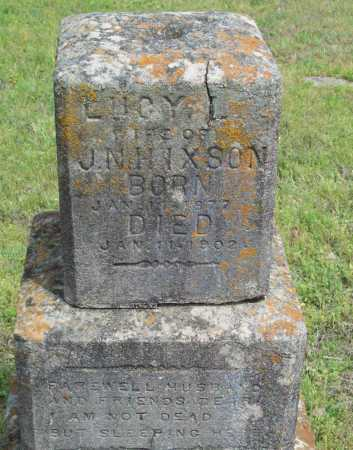 HIXSON, LUCY L. - Logan County, Arkansas | LUCY L. HIXSON - Arkansas Gravestone Photos