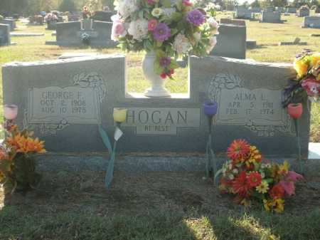 HOGAN, ALMA L. - Logan County, Arkansas | ALMA L. HOGAN - Arkansas Gravestone Photos