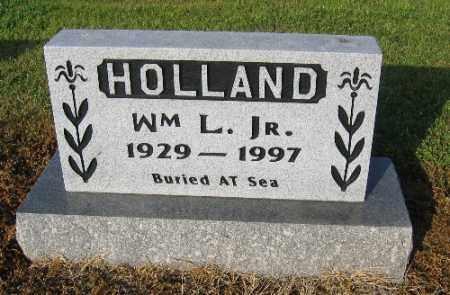 HOLLAND, JR., WILLIAM L. - Logan County, Arkansas | WILLIAM L. HOLLAND, JR. - Arkansas Gravestone Photos