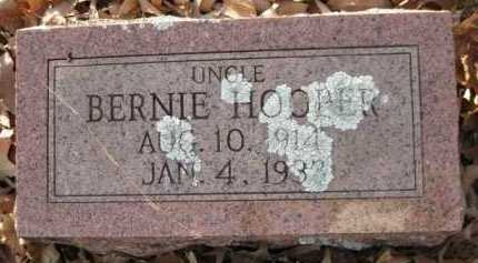 HOOPER, BERNIE - Logan County, Arkansas | BERNIE HOOPER - Arkansas Gravestone Photos