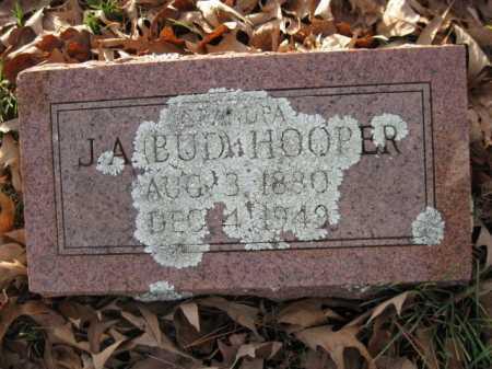 HOOPER, J A  (BUD) - Logan County, Arkansas | J A  (BUD) HOOPER - Arkansas Gravestone Photos