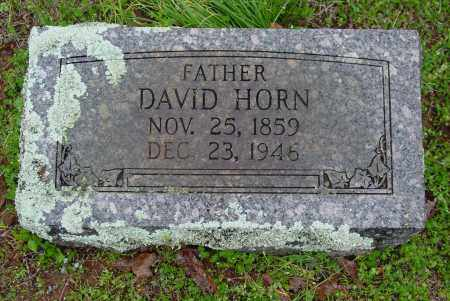 HORN, DAVID B. - Logan County, Arkansas | DAVID B. HORN - Arkansas Gravestone Photos