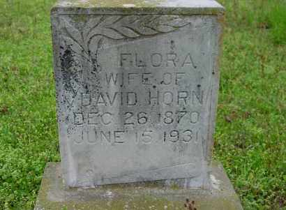 LAY HORN, FLORA A. - Logan County, Arkansas | FLORA A. LAY HORN - Arkansas Gravestone Photos