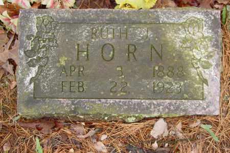 SWAIM HORN, RUTH JANE - Logan County, Arkansas | RUTH JANE SWAIM HORN - Arkansas Gravestone Photos