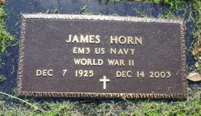 HORN (VETERAN WWII), JAMES - Logan County, Arkansas | JAMES HORN (VETERAN WWII) - Arkansas Gravestone Photos