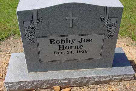 HORNE, BOBBY JOE - Logan County, Arkansas | BOBBY JOE HORNE - Arkansas Gravestone Photos