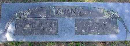 HORNE, BUFORD ALONZO - Logan County, Arkansas | BUFORD ALONZO HORNE - Arkansas Gravestone Photos