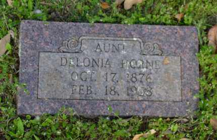 HORNE, DELONIA - Logan County, Arkansas | DELONIA HORNE - Arkansas Gravestone Photos