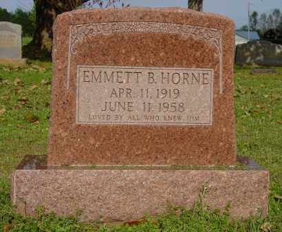 HORNE, EMMETT B. - Logan County, Arkansas | EMMETT B. HORNE - Arkansas Gravestone Photos