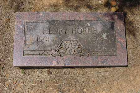 HORNE, HENRY - Logan County, Arkansas | HENRY HORNE - Arkansas Gravestone Photos