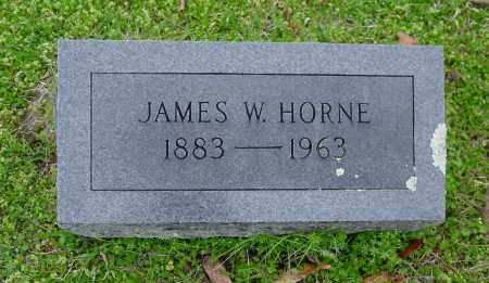 HORNE, JAMES WESLEY - Logan County, Arkansas | JAMES WESLEY HORNE - Arkansas Gravestone Photos