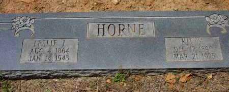 CROSSNO HORNE, AGNES (KITTY) - Logan County, Arkansas | AGNES (KITTY) CROSSNO HORNE - Arkansas Gravestone Photos