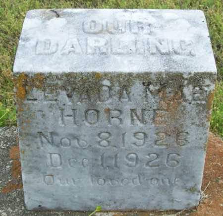 HORNE, LEVADA MAE - Logan County, Arkansas | LEVADA MAE HORNE - Arkansas Gravestone Photos
