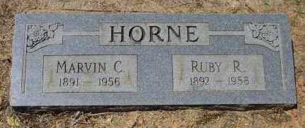 HORNE, MARVIN CARSON - Logan County, Arkansas | MARVIN CARSON HORNE - Arkansas Gravestone Photos