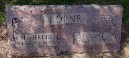HORNE, ROBERT DUKE - Logan County, Arkansas | ROBERT DUKE HORNE - Arkansas Gravestone Photos