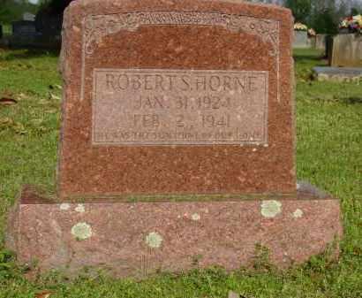 HORNE, ROBERT S. - Logan County, Arkansas | ROBERT S. HORNE - Arkansas Gravestone Photos