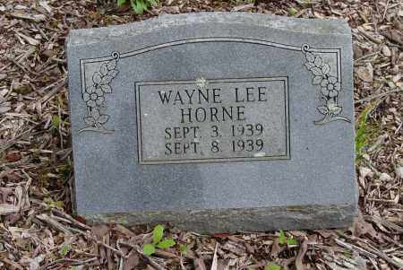 HORNE, WAYNE LEE - Logan County, Arkansas | WAYNE LEE HORNE - Arkansas Gravestone Photos