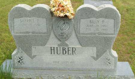 HUBER, BILLY D. - Logan County, Arkansas | BILLY D. HUBER - Arkansas Gravestone Photos