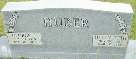 HUBER, GEORGE J. - Logan County, Arkansas | GEORGE J. HUBER - Arkansas Gravestone Photos