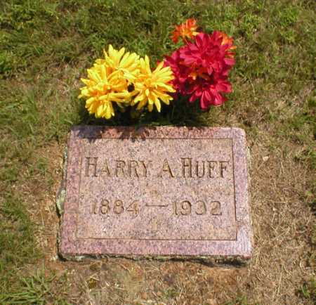 HUFF, HARRY A. - Logan County, Arkansas | HARRY A. HUFF - Arkansas Gravestone Photos