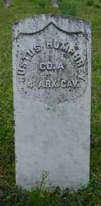 HUMPHREY (VETERAN UNION), HUSTUS - Logan County, Arkansas | HUSTUS HUMPHREY (VETERAN UNION) - Arkansas Gravestone Photos