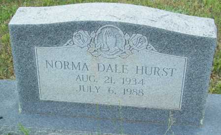 HURST, NORMA DALE - Logan County, Arkansas | NORMA DALE HURST - Arkansas Gravestone Photos
