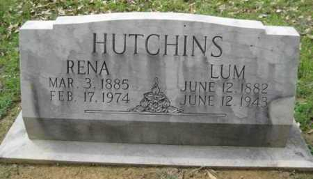 HUTCHINS, LUM - Logan County, Arkansas | LUM HUTCHINS - Arkansas Gravestone Photos