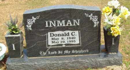INMAN, DONALD C. - Logan County, Arkansas | DONALD C. INMAN - Arkansas Gravestone Photos