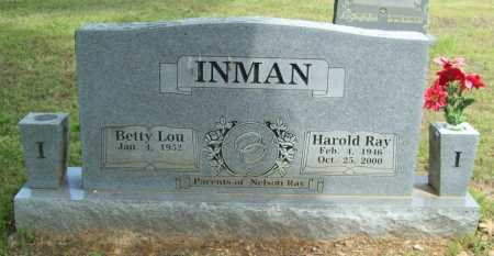 INMAN, HAROLD RAY - Logan County, Arkansas | HAROLD RAY INMAN - Arkansas Gravestone Photos