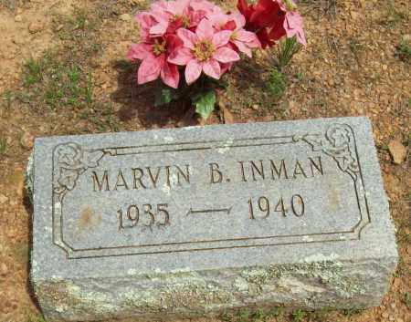 INMAN, MARVIN B. - Logan County, Arkansas | MARVIN B. INMAN - Arkansas Gravestone Photos