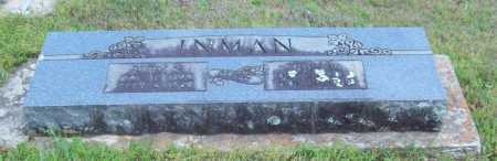 INMAN, JESS W. - Logan County, Arkansas | JESS W. INMAN - Arkansas Gravestone Photos