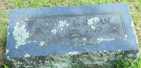 INMAN, ROBERT L. - Logan County, Arkansas | ROBERT L. INMAN - Arkansas Gravestone Photos