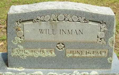 INMAN, WILL - Logan County, Arkansas | WILL INMAN - Arkansas Gravestone Photos