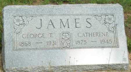 JAMES, CATHERINE - Logan County, Arkansas | CATHERINE JAMES - Arkansas Gravestone Photos