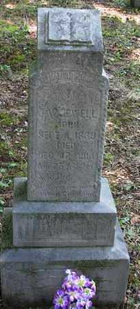 JEWELL (VETERAN CSA), JAMES W - Logan County, Arkansas | JAMES W JEWELL (VETERAN CSA) - Arkansas Gravestone Photos