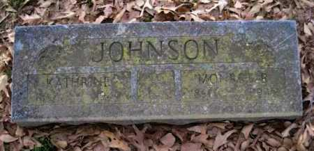 JOHNSON, MONROE E - Logan County, Arkansas | MONROE E JOHNSON - Arkansas Gravestone Photos