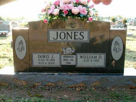JONES, DORIS J. - Logan County, Arkansas | DORIS J. JONES - Arkansas Gravestone Photos
