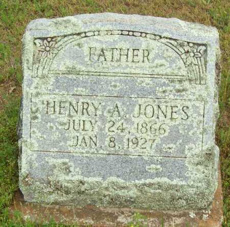 JONES, HENRY A. - Logan County, Arkansas | HENRY A. JONES - Arkansas Gravestone Photos