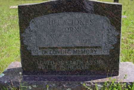 WOODS JONES HORN, RILLA V. - Logan County, Arkansas | RILLA V. WOODS JONES HORN - Arkansas Gravestone Photos