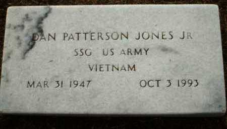 JONES, JR. (VETERAN VIET), DAN PATTERSON - Logan County, Arkansas | DAN PATTERSON JONES, JR. (VETERAN VIET) - Arkansas Gravestone Photos