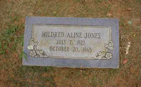 JONES, MILDRED ALINE - Logan County, Arkansas | MILDRED ALINE JONES - Arkansas Gravestone Photos