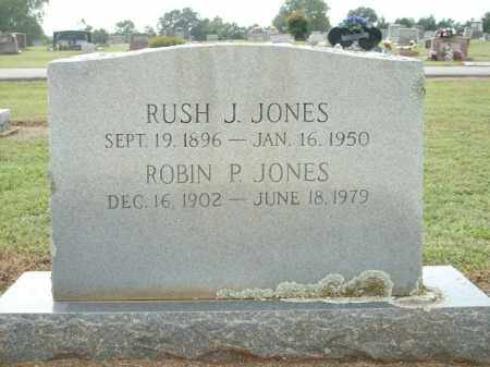 JONES, RUSH J. - Logan County, Arkansas | RUSH J. JONES - Arkansas Gravestone Photos